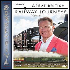 GREAT BRITISH RAILWAY JOURNEYS - COMPLETE SERIES 8   *** BRAND NEW DVD ***
