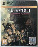 Final Fantasy XII 12 the Zodiac Age steelbook edition - Sony PS4 - Neuf - PAL FR