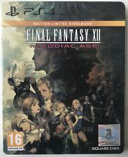 Final Fantasy XII 12 the Zodiac Age steelbook edition - Sony PS4 - Neuf - PAL FR