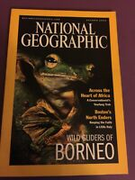 National Geographic October 2000 Wild Gliders of Borneo Boston's Little Italy