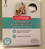 "Allerease Waterproof Allergy Zipped Mattress Protector Twin 39"" X 75"""