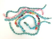 Over 100 stone beads turquoise skeleton jewelry necklace crafts