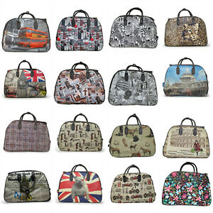Women Men Travel Bags Hand Luggage Cabin Size Flight Trolley Ladies Bag