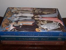 Folio Society ILLUSTRATED DANTE Inferno Purgatorio Paradiso - Blake Paolo Dali