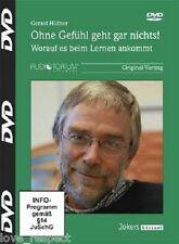 DVD, OHNE GEFÜHL GEHT GAR NICHTS, Gerald Hüther, NEU/OVP
