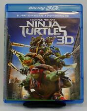 BLU-RAY 3D ONLY! - Teenage Mutant Ninja Turtles (2014) - with Case & Art