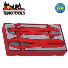 Teng 3pc Plastic & Rubber Hose Pipe Clamp Plier Set TTHC03 - Tool Control System