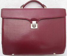 - Serviette/cartable en cuir TEXIER  vintage TBEG bag