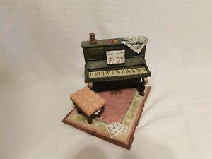 Miniature Stone Upright Piano
