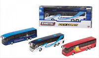 Teamsterz City Coach Airport Bus DieCast Toy Model Vehicles Kids Toy 1:32 Scale