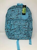 Concept One Rick and Morty Backpack Pocket Book Bag Mr Meeseeks