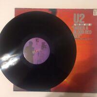 U2 - Under A Blood Red Sky Live 1993  UK Vinyl LP Mini Album  IMA3  NM  UNPLAYED