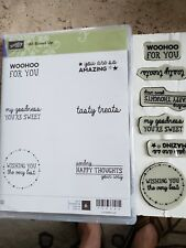 Stampin Up Clear Mount Set ~ All Boxed Up