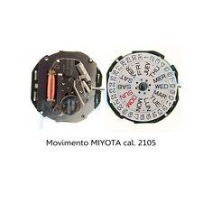 Movimento al quarzo MIYOTA 2105 movement quartz for watch orologi Japan Made