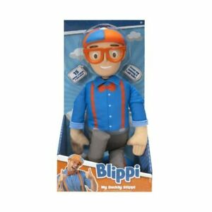 Blippi My Buddy Blippi with Sounds 16 inch Soft Toy Educational Toy
