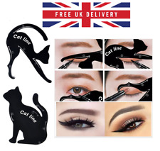 2pcs Cat Line Eyeliner Stencils Cat Eyes Shaper Eye Shadow Tool Makeup Template