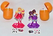 NEW-2017-2 PRINCESS POWER BARBIES KINDER SURPRISE EGG TOYS-STICKERS & FIGURINES+