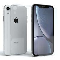 Apple iPhone XR Schutz Hülle Handy Cover Case + Schutzglas 9H Glas Folie Panzer