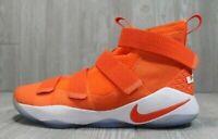 Nike Lebron Soldier XI 11 (943155-800) Orange Basketball Shoes MEN'S SIZE 18 NEW