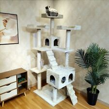 Cat Climbing Toy New Tree House Condo Furniture Pet Kitten  Tower Scratching