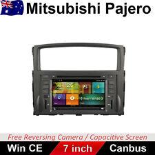 "7"" Car DVD GPS Stereo Navigation Head Unit Radio For Mitsubishi Pajero 2006-2015"