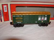 Lionel 6-27946 Christmas Savings Bank Box Car O 027 New 2014