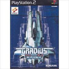 Used PS2 Konami Gradius III and IV SONY PLAYSTATION JAPAN IMPORT