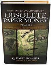 Whitman Encyclopedia of Us Obsolete Paper Money Volume 1 Banknote Anatomy