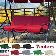 Swing Chair Waterproof Cushion Cover Patio Garden Outdoor Seat Replacement Us