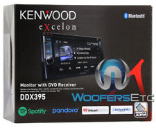"KENWOOD EXCELON DDX395 6.2"" DVD CD BLUETOOTH USB 13 BAND EQUALIZER CAR STEREO"