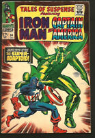 Tales of Suspense #84 Iron Man Captain America SUPER ADAPTOID Marvel Comics 1966