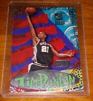 TIM DUNCAN ROOKIE  1997-1998 Skybox Premium Next Game ROOKIE