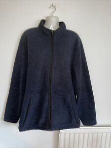 """Mens Nice Quality Fleece Style Jacket By George. Size L. 42/44""""chest.Worn twice."""
