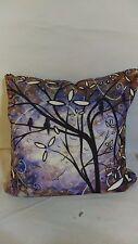 "Deny Design Madart Royalty Throw Pillow 16"" x 16"" Purple"