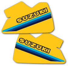 1981 Suzuki RM 250 465 Tank Decals Full Cover