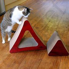 CAT Maglie taglienti e piallanti Grande Deluxe GATTINO CARTONE ONDULATO graffiare Pad Board giocattolo