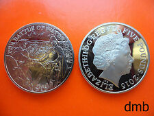 2015: 200th Anniversary of the Battle of Waterloo £5 PROOF Coin: 5 Pound