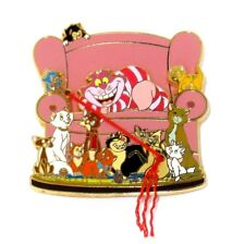 RARE Disney Pin✿Cats Cheshire Lucifer Figaro Oliver Marie Dinah Duchess Si & Am