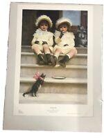 "Phillip Richard Morris Art Poster Print ""Sunday Best"" 28"" X 19.5"""
