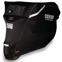 Oxford Motorcycle/Bike Protex Premium Stretch-Fit Outdoor Cover - Large CV162