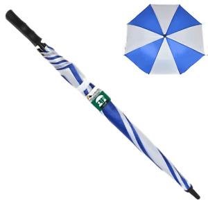 1pce Blue 77cm Golf Umbrella Large Automatic Open Waterproof