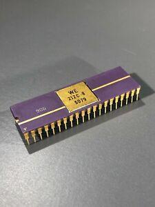 Western Electric BellMAC-8 212C Microprocessor - Gold,Purple Ceramic,WE212