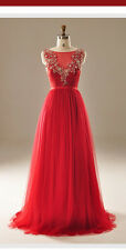 Chinese Red event dress