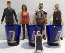 DOCTOR WHO : ACTION FIGURES, SHOT GLASSES AND STANDEE BUNDLE (BP)