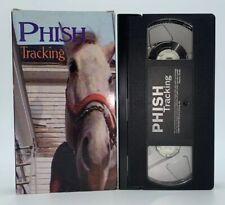 Phish Tracking Vhs Filmed During Hoist Album Recording by Mike Gordon Rare Band