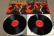 Duke Ellington-Dance To The Duke/Bal Masque-Columbia 1282-2LP LOT