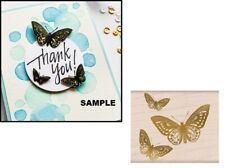 Hero Arts G6353 FROM THE VAULT BUTTERFLY Rubber Stamp Limited Edition