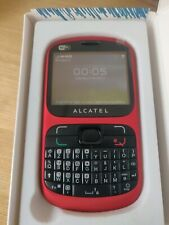 ALCATEL Alcatel One Touch 813 - Red (Unlocked) Mobile Phone
