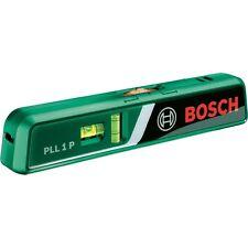Bosch Laser-Wasserwaage PLL 1 L mit Wandhalterung und Batterien