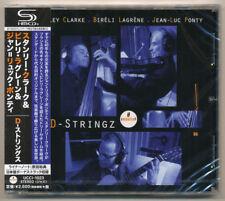 Stanley Clarke Bireli Lagrene & Jean-Luc Ponty - D-Stringz / Japan SHM CD / NEW!